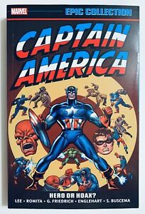 CAPTAIN AMERICA HERO OR HOAX EPIC COLLECTION TPB RARE OOP