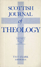 Scottish Journal of Theology Vol. 51 Number 3 1998   W3