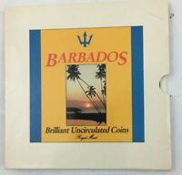 Barbados  Coin Set 1989 Kursmüntzensatz Selten Royal Mint