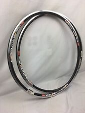 NEW PAIR of Stan's NoTubes 700c ZTR Alpha 240 32h Black 700c Tubeless Ready Rims