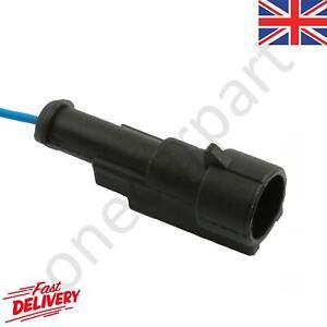 Waterproof Electric Electrical Connector Terminal Single Pin / Plug - Female