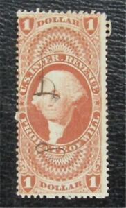 nystamps US Revenue Stamp # R76c Used $55   L23x814