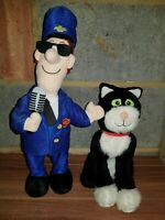"Postman Pat Showbiz Pat Sings and Dances 15"" Figure with Jess the Talking Cat"
