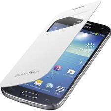 Custodia Flip Cover Samsung i9195 Galaxy S4 Mini slim book SIV bianco originale
