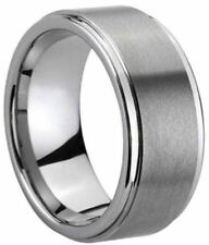 Comfort Fit Matte Finish Tungsten Carbide Ring Anniversary Couples Wedding Band