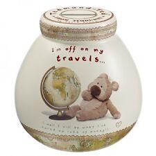 Pot Of Dreams Ceramic Money Box/ Pot TEDMUND OFF ON MY TRAVELS 402572 (Break Pot