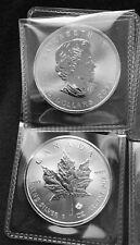 2014 1 oz Canadian Silver Maple Leaf Coin (BU) .9999 Silver
