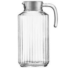 More details for quadro glass jug 59.8oz / 1.7ltr | pack of 6