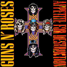Guns N' Roses - Appetite For Destruction - 180gram Vinyl LP *NEW & SEALED*
