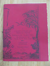 Checklist printed & manuscript material relating to Canadian Indian Lande Signed