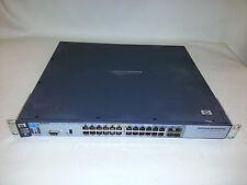 HP J8692A 3500yl-24G-PWR ProCurve Switch 24 Gigabit port 1U PoE 10/100/1000