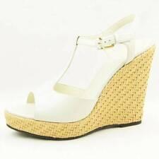 "Bally ""Palomita"" T-Strap Wedge Heel Sandals,Women's Shoes 10.5US/41EU/8.5UK"