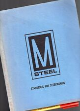 1973 STANDARDS for STEELMAKING 180 BIG pg Many types STAINLESS STEEL ++ Iron