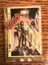KISS ORIGINAL STICK PIN Sealed on Card AUCOIN 1977