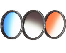 Farb - Verlaufsfilterset  Blau + Orange Tabak + ND Grau 67mm 67mm