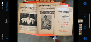 1975, 1976, 1977, 1978, 1979, 1982, 1983 Sports Collectors Digest Issues (84)