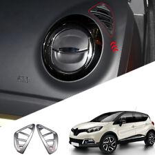 Matte Interior Upper Air Vent Outlet Trim for Renault Captur Kaptur 2013-2018
