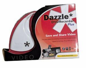Dazzle DVD Recorder Plus Video Movies Pinnacle Studio 12 Video Capture