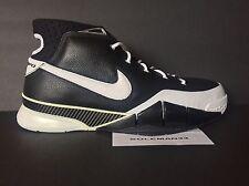 2006 Nike Zoom Kobe 1 Men's Size 13 BLACK/WHITE 313143-012