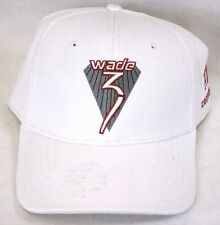 NEW Mens Dwyane Wade #3 CONVERSE Stretch Fitted Hat Cap L/XL L XL White