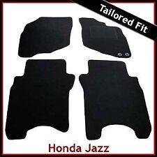 Honda Jazz 2002-2008 Tailored Fitted Carpet Car Floor Mats BLACK