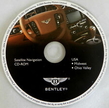 04 2005 BENTLEY CONTINENTAL GT FLYING SPUR NAVIGATION NAV MAP DISC CD MIDWEST OH