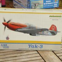 Eduard 8456 1:48 Bausatz 2.WK.- II.WK.Kampfflugzeug YAK-3 Russland UdSSR OVP