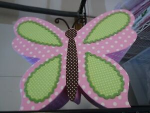 Pottery Barn Kids BUTTERFLY  Lamp Shade wall art New in box