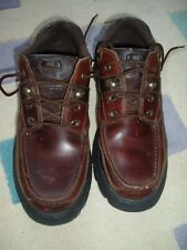 CAT men's deep brown 'Walking Machine's boots size UK 6