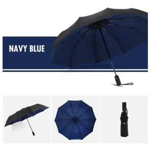 Large Ribs Double Layer Auto-collapsible Weatherproof Sun Protection Umbrella