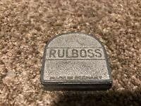 Vintage Rulboss Tape Measure Made In Germany