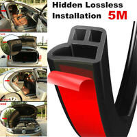 5M Car Door Hood Trunk Trim Edge Moulding Rubber Weatherstrip Seal Strip cxs