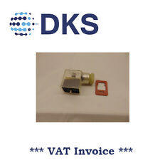 BOSCH REXROTH 1834484107 FORM B VALVE CONNECTOR WITH LED 24 VOLT 000152