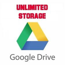 Unlimited Google Drive Storage/ Cloud Drive (For Existing Gmail or G Suite) NEW