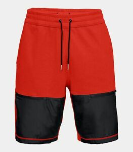 Under Armour Men's Radio Red/Black UA Pursuit Microthread Fitted Athletic Shorts