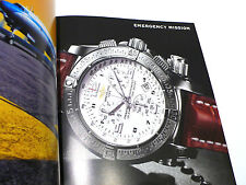 Catálogo Breitling Reloj 2005-06 hombres/mujeres 190 PG + Menta de venta por menor euro lista de precios