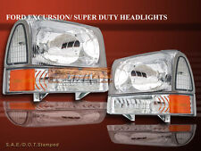1999-2000-2005 FORD EXCURSION/F-250/F-350 SUPER DUTY HEADLIGHTS+CORNER+BUMPER