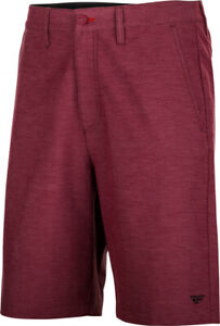 Fly Racing Pilot Shorts | Burgundy | Choose Size