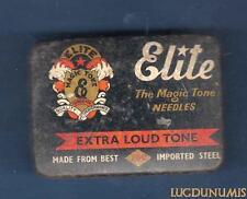 Boite Aiguillles Gramphone Phonographe – Elite Extra Loud Tone 70 90 Aiguilles