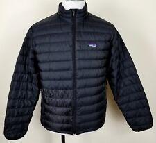 Patagonia Down Sweater Jacket Mens M medium insulated black puffer 84673 $229