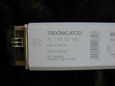Tridonic Atco Digital Balasto PC 1/40 TCL PRO Lámparas 1x 40w 240v
