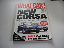 WHAT CAR ?   MAGAZINE   MAY   1997    ENGLISH MONTHLY