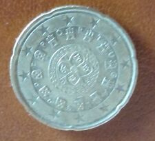 20 Cent Euro-Münze Portugal Prägejahr 2005 aus Umlauf Sammlerstück