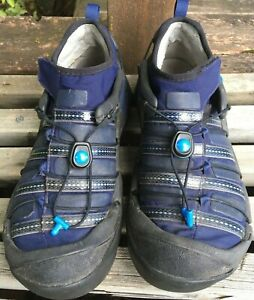 Mion by KEEN Warm Canyon Shoes Hybrid Sandals Women's Sz 7 Hiking Water Black