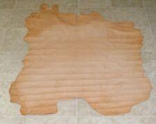 (LFE8603) Hide of Natural Brown Sheep Skin Leather Hide Skin