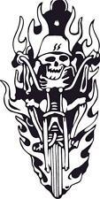 Harley Davidson skull car motorcycle decals vinyl