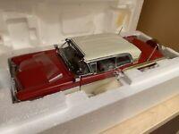 DANBURY MINT 1957 MERCURY TURNPIKE CRUISER CAR 1:24 SCALE DIE CAST MIB