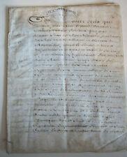 DOCUMENT ANCIEN  1729