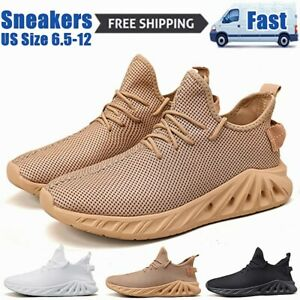 Men's Casual Running Sneakers Walking Sports Athletic Outdoor Tennis Shoes Gym