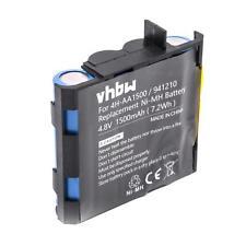 Batterie 1500mAh pour Compex 4H-AA2000, 941210, 941213, 4H-AA1500